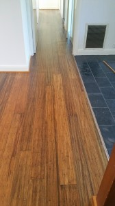 Hand Scrapped Carbonised Bamboo Flooring