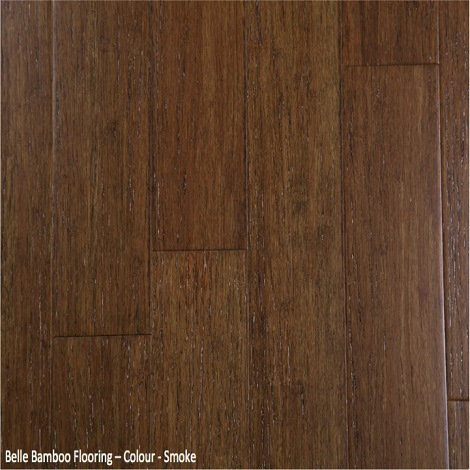 Belle Bamboo Flooring - Smoke