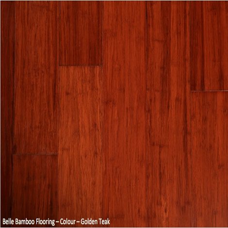 Belle Bamboo Flooring - Golden Teak